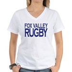 Fox Valley Rugby Women's V-Neck T-Shirt