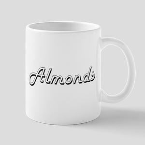 Almonds Classic Retro Design Mugs