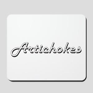 Artichokes Classic Retro Design Mousepad