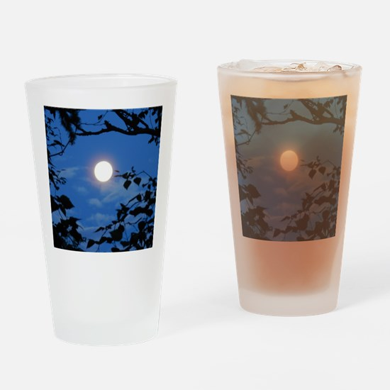 Once in a Blue Moon  - Drinking Glass