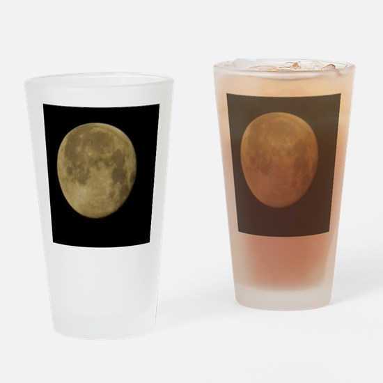 Blue Moon -  Drinking Glass
