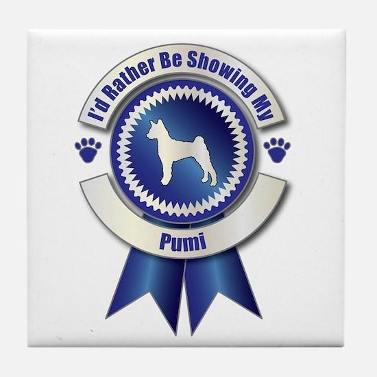 Showing Pumi Tile Coaster