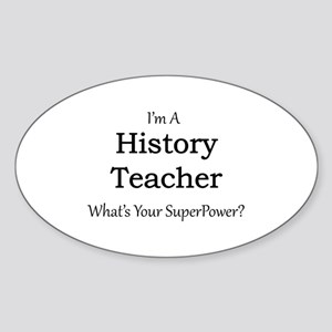 History Teacher Sticker
