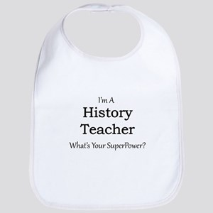 History Teacher Bib