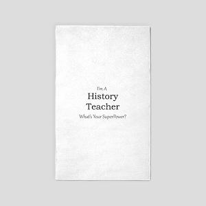 History Teacher Area Rug