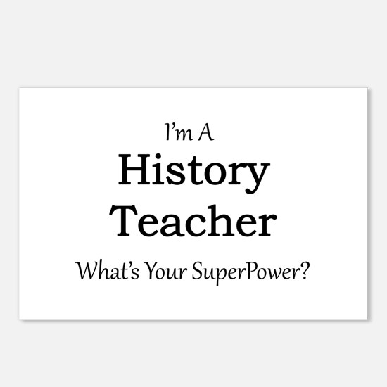 History Teacher Postcards (Package of 8)