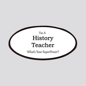 History Teacher Patch