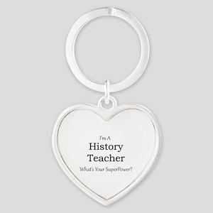 History Teacher Keychains