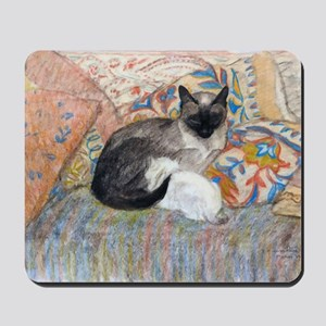 Cuddly Cat and Kitten Mousepad