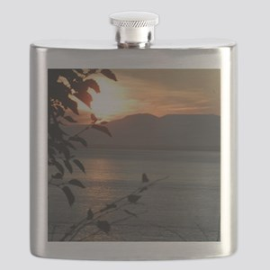 Alaska Sunset  Flask