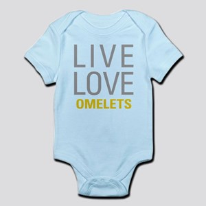 Live Love Omelets Body Suit