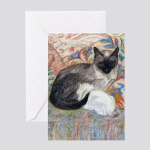 Cuddly Cat and Kitten Greeting Cards