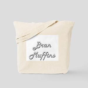 Bran Muffins Classic Retro Design Tote Bag