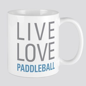 Live Love Paddleball Mugs