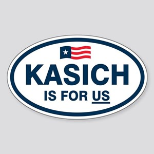 Kasich Is For US Sticker