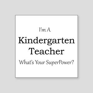 Kindergarten Teacher Sticker