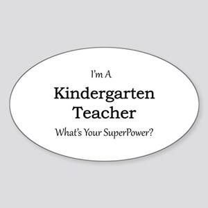 Kindergarten Teacher Sticker