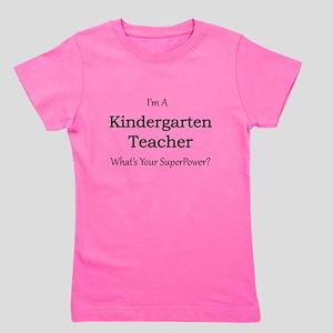 Kindergarten Teacher Girl's Tee