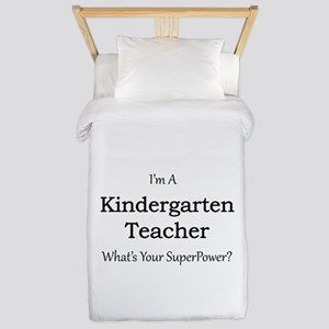 Kindergarten Teacher Twin Duvet