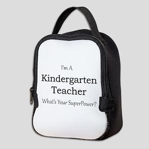 Kindergarten Teacher Neoprene Lunch Bag