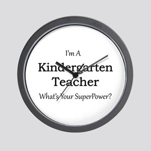 Kindergarten Teacher Wall Clock