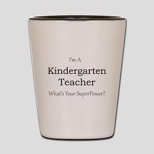 Kindergarten Teacher Shot Glass