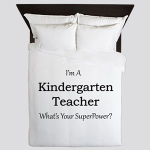 Kindergarten Teacher Queen Duvet