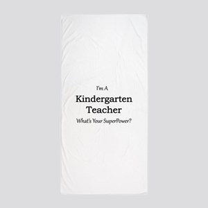 Kindergarten Teacher Beach Towel