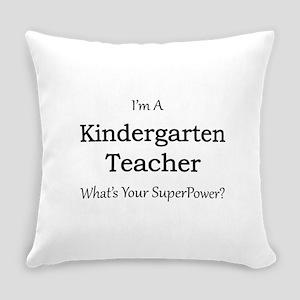 Kindergarten Teacher Everyday Pillow