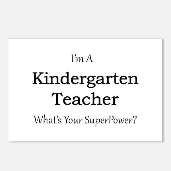Kindergarten Teacher Postcards (Package of 8)