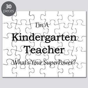 Kindergarten Teacher Puzzle