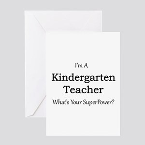 Kindergarten Teacher Greeting Cards