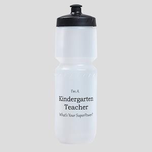 Kindergarten Teacher Sports Bottle