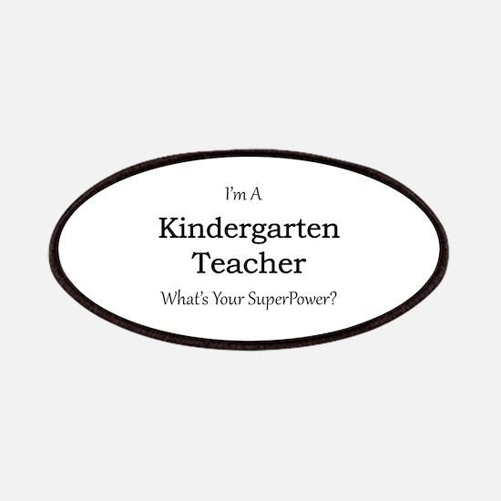 Kindergarten Teacher Patch