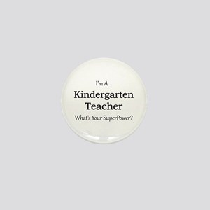 Kindergarten Teacher Mini Button