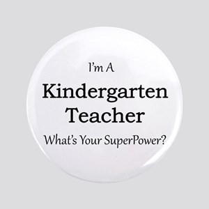 Kindergarten Teacher Button