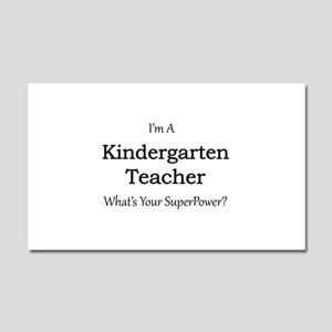 Kindergarten Teacher Car Magnet 20 x 12