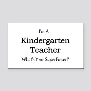 Kindergarten Teacher Rectangle Car Magnet