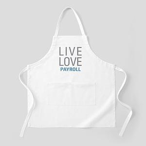 Live Love Payroll Apron