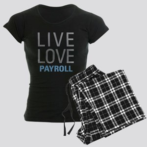 Live Love Payroll Women's Dark Pajamas