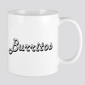 Burritos Classic Retro Design Mugs
