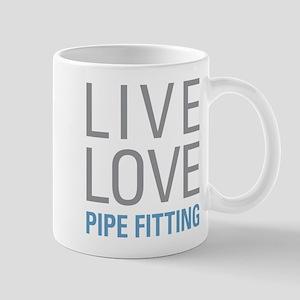 Live Love Pipe Fitting Mugs