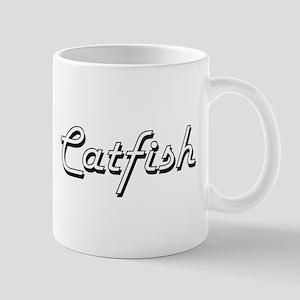 Catfish Classic Retro Design Mugs
