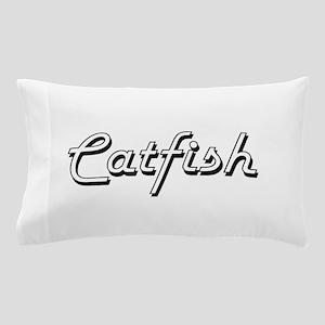 Catfish Classic Retro Design Pillow Case