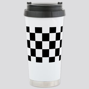 checker board Stainless Steel Travel Mug
