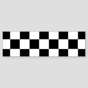 checker board Bumper Sticker