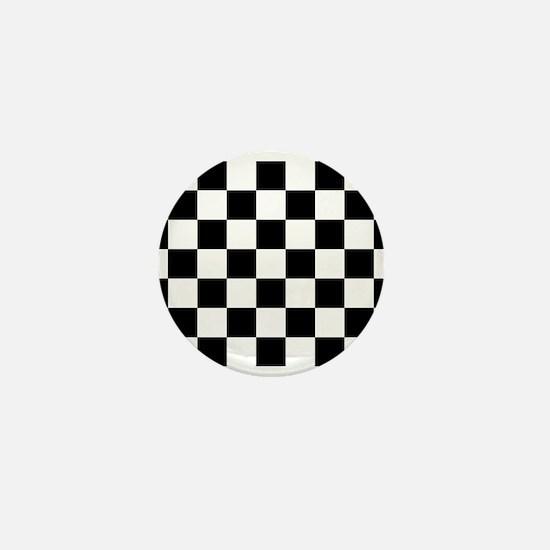 checker board Mini Button