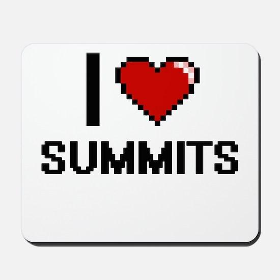 I love Summits Digital Design Mousepad