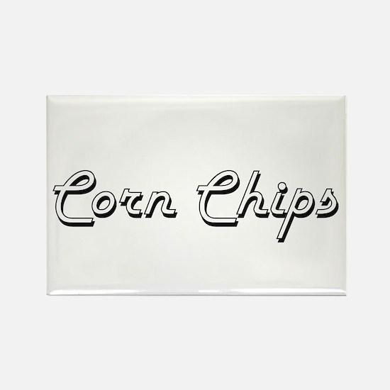 Corn Chips Classic Retro Design Magnets