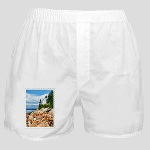 Bass Harbor Acadia National Park Main Boxer Shorts